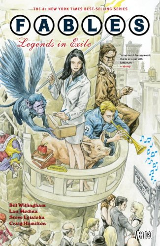 Fables Legends in Exile  2012 edition cover