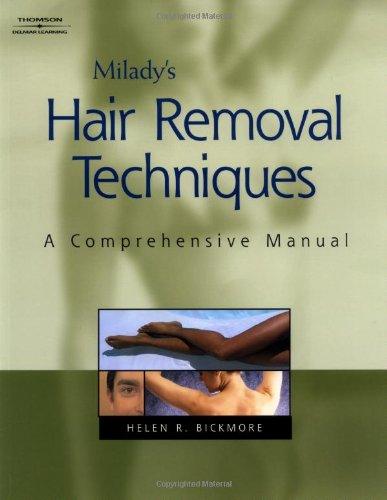 Hair Removal Techniques A Comprehensive Manual  2004 9781401815554 Front Cover