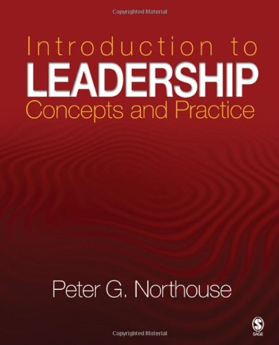 Introduction to Leadership Concepts and Practice  2009 edition cover