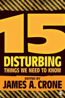 15 Disturbing Things We Need to Know   2013 edition cover