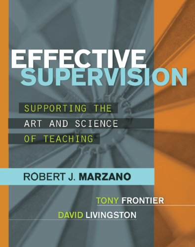 Effective Supervision Supporting the Art and Science of Teaching  2011 edition cover