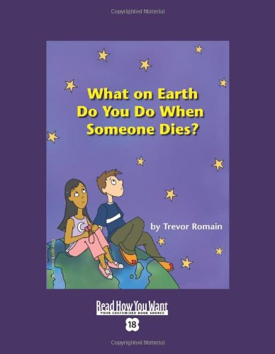What on Earth Do You Do When Someone Dies?   2003 edition cover