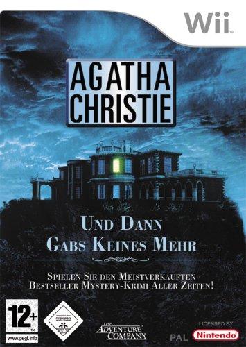Agatha Christie: Und dann gabs keines mehr Nintendo Wii artwork