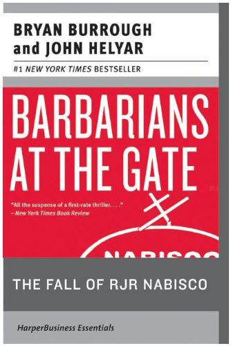 Barbarians at the Gate The Fall of RJR Nabisco 20th 2009 9780061655555 Front Cover
