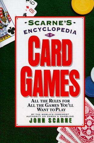Scarne's Encyclopedia of Card Games  N/A 9780062731555 Front Cover