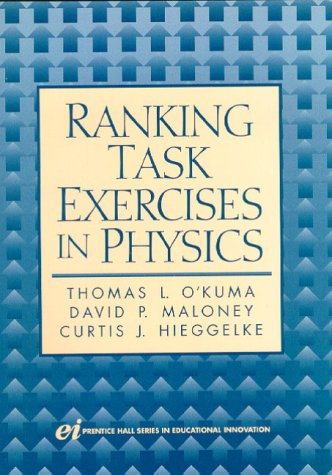 Ranking Task Exercises in Physics   2000 9780130223555 Front Cover