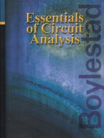 Essentials of Circuit Analysis   2004 edition cover