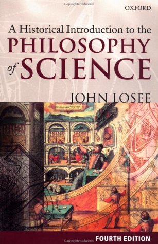 Historical Introduction to the Philosophy of Science  4th 2001 (Revised) edition cover