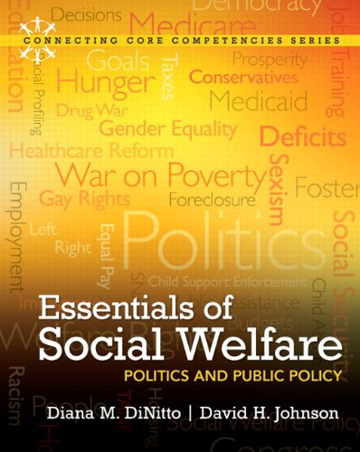 Essentials of Social Welfare Politics and Public Policy  2012 edition cover