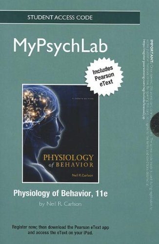 Physiology of Behavior   2013 edition cover