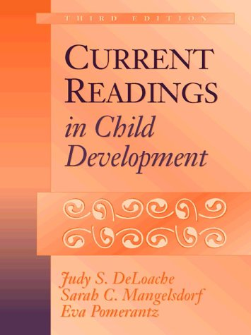 Current Readings in Child Development  3rd 1998 edition cover