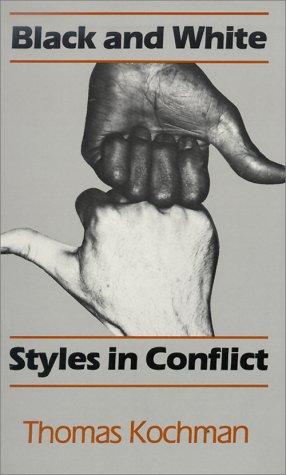 Black and White Styles in Conflict   1981 edition cover