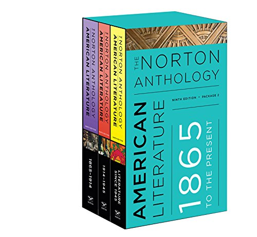 The Norton Anthology of American Literature:   2016 9780393264555 Front Cover