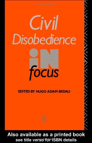 Civil Disobedience in Focus   1991 edition cover
