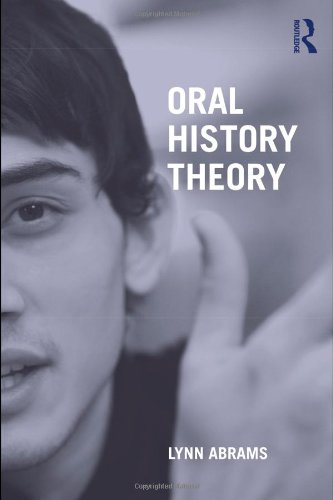 Oral History Theory   2010 edition cover