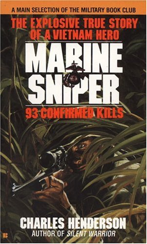 Marine Sniper 93 Confirmed Kills  1986 9780425103555 Front Cover