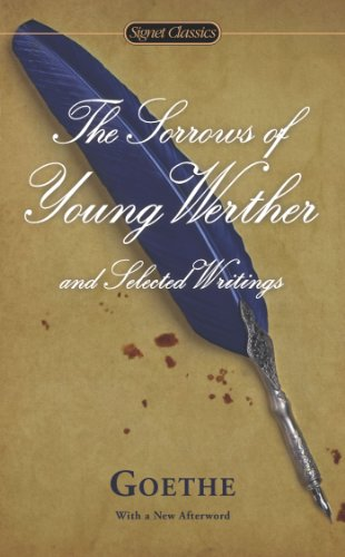 Sorrows of Young Werther and Selected Writings  N/A edition cover