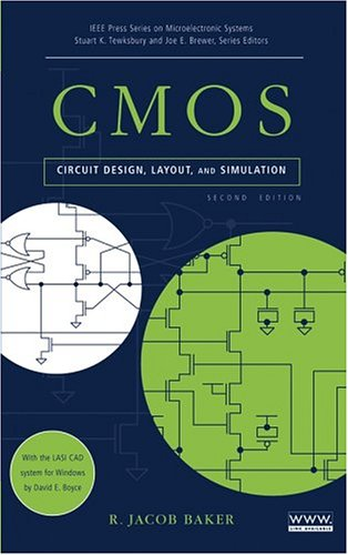 CMOS Circuit Design, Layout and Simulation 2nd 2005 (Revised) edition cover
