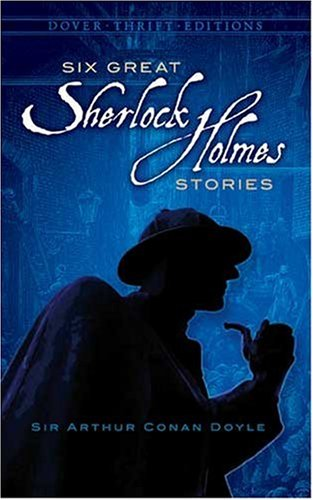 Six Great Sherlock Holmes Stories   1992 edition cover