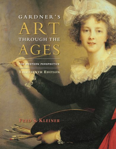 Gardner's Art Through the Ages The Western Perspective 13th 2010 edition cover