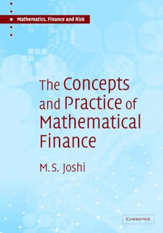 Concepts and Practice of Mathematical Finance   2003 edition cover