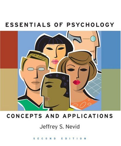 Essentials of Psychology Concepts and Applications 2nd 2009 edition cover