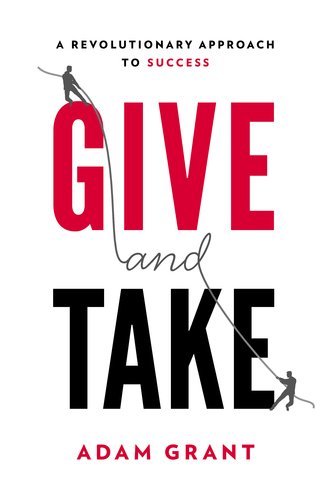 Give and Take   2013 edition cover