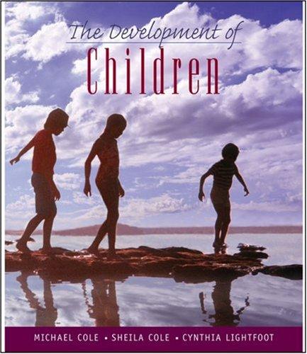 Development of Children  5th 2005 edition cover