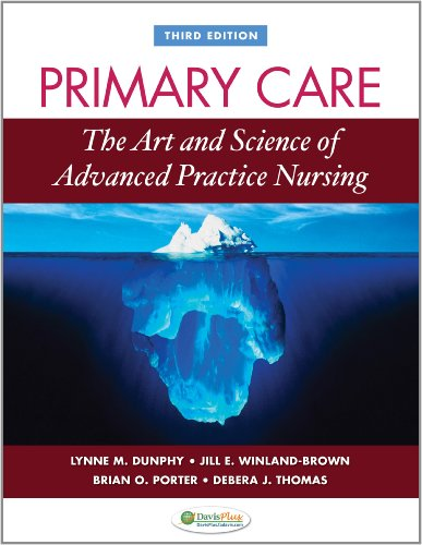 Primary Care Art and Science of Advanced Practice Nursing 3rd 2011 (Revised) 9780803622555 Front Cover