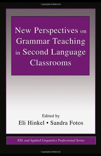 New Perspectives on Grammar Teaching in Second Language Classrooms   2001 edition cover