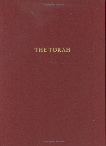 Torah A Modern Commentary (English Opening) 1st edition cover