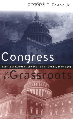 Congress at the Grassroots Representational Change in the South, 1970-1998  2000 edition cover
