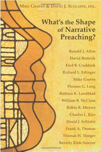 What's the Shape of Narrative Preaching?   2008 edition cover