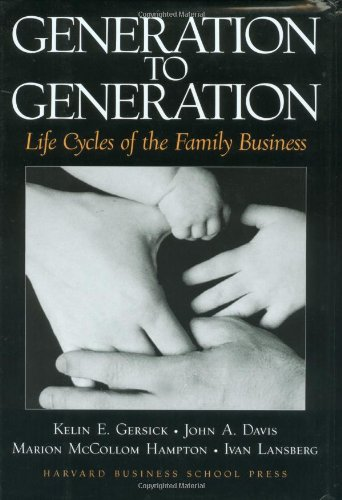 Generation to Generation Life Cycles of the Family Business  1996 9780875845555 Front Cover