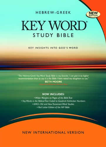 Hebrew-Greek Key Word Study Bible-NIV-Wide Margin  N/A edition cover