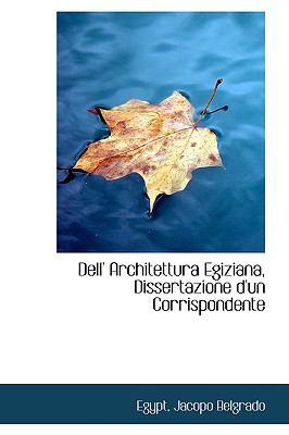 Dell' Architettura Egiziana, Dissertazione D'un Corrispondente:   2009 edition cover