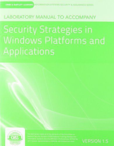 Security Strategies in Windows Platforms and Applications   2014 edition cover