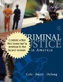 Criminal Justice in America:   2013 edition cover