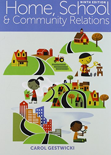 Bundle: Home, School, and Community Relations, Loose-Leaf Version, 9th + MindTap Education, 1 Term (6 Months) Printed Access Card  9th 2016 9781305619555 Front Cover