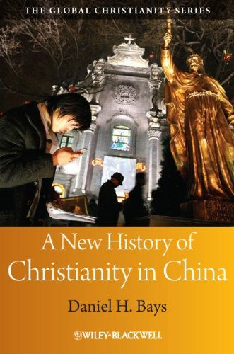 New History of Christianity in China   2011 edition cover
