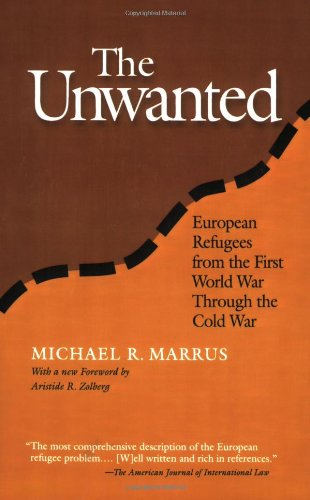 Unwanted European Refugees in the Twentieth Century 2nd 2002 edition cover