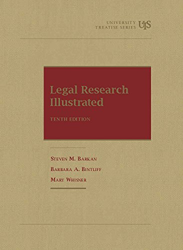 Legal Research Illustrated:   2015 9781609300555 Front Cover