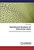 Nutritional Analysis of Dioscorea Alata  0 edition cover