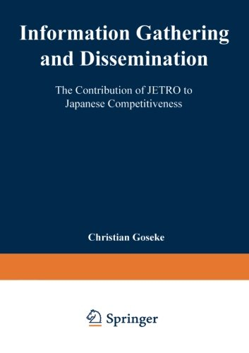 Information Gathering and Dissemination   1997 9783824464555 Front Cover
