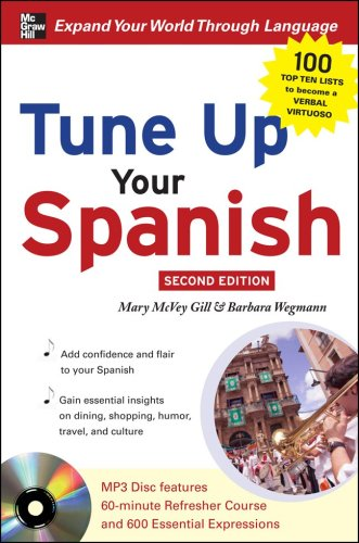 Tune up Your Spanish with MP3 Disc  2nd 2009 edition cover