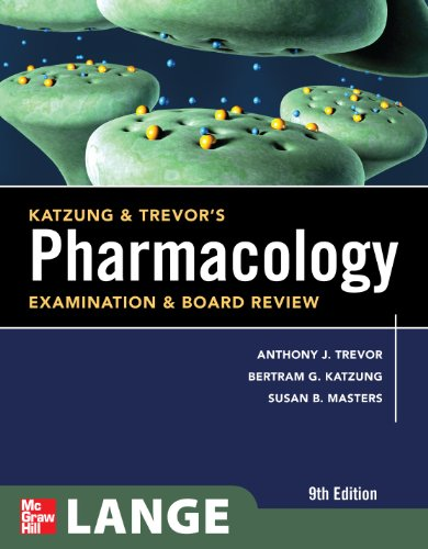 Pharmacology Examination and Board Review 9th 2010 edition cover