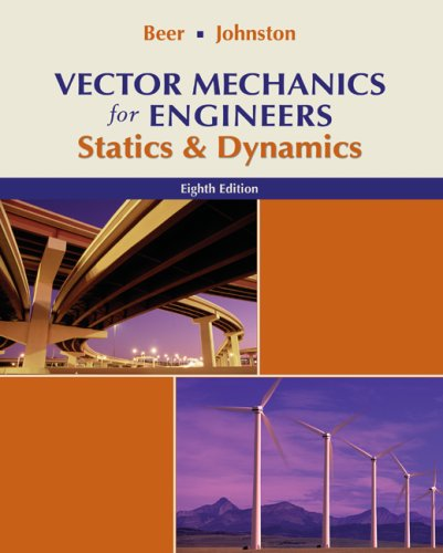 Vector Mechanics for Engineers Statics and Dynamics 9th 2010 9780077275556 Front Cover
