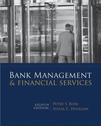 Bank Management and Financial Services 8th 2010 edition cover
