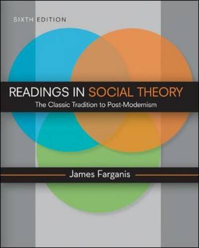 Readings in Social Theory  6th 2011 edition cover