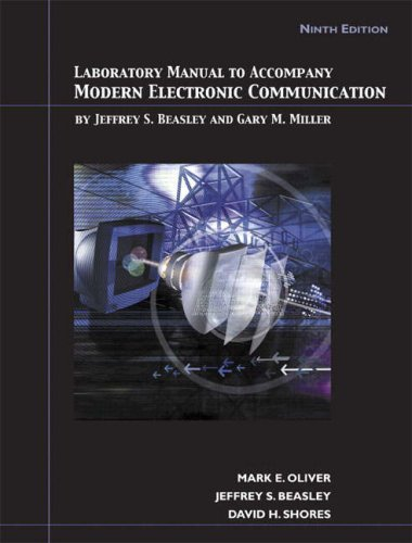 Modern Electronic Communication  9th 2008 (Lab Manual) edition cover